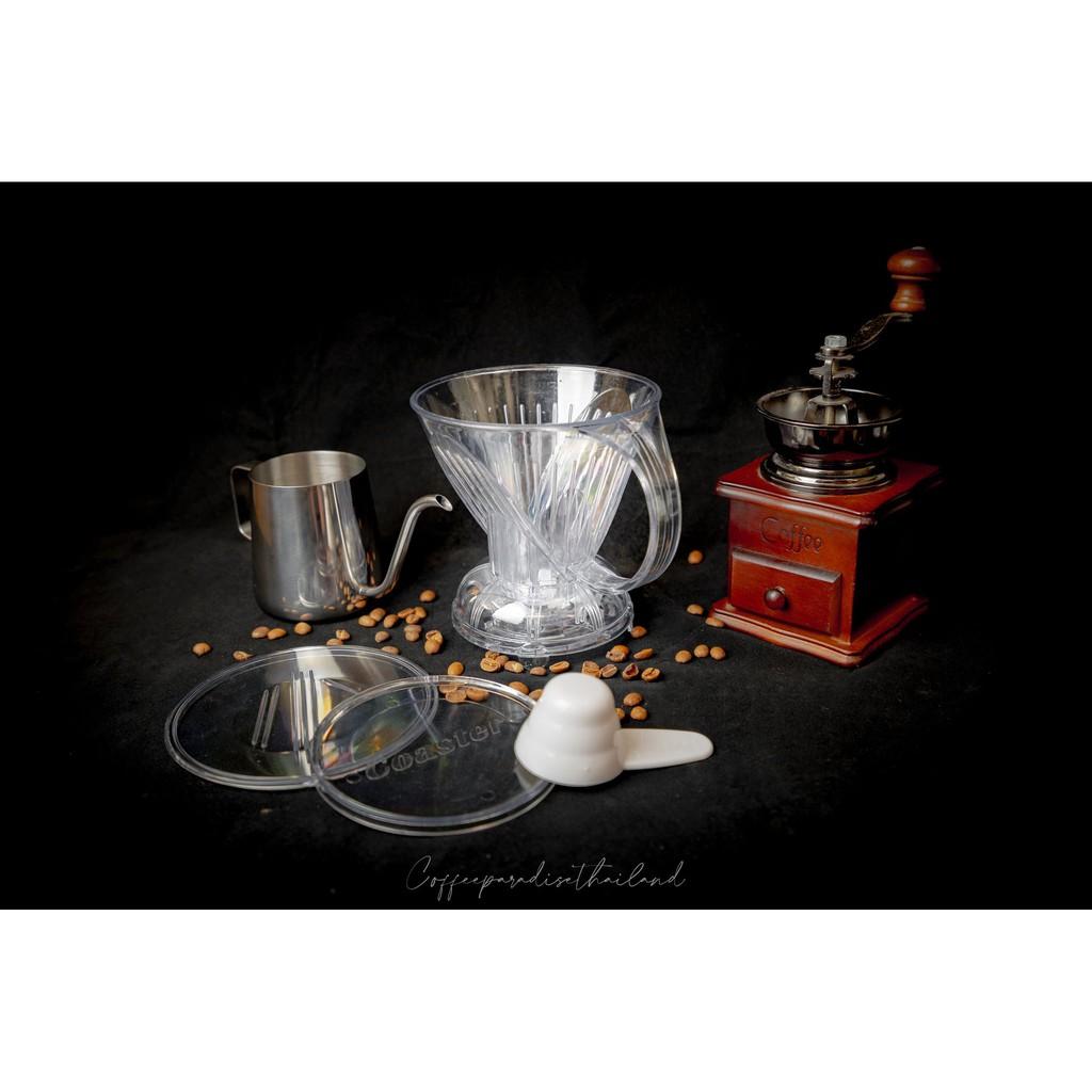 CLEVER COFFEE DRIPPER (ดริปเปอร์แบบ กักน้ำได้) มีคลิป