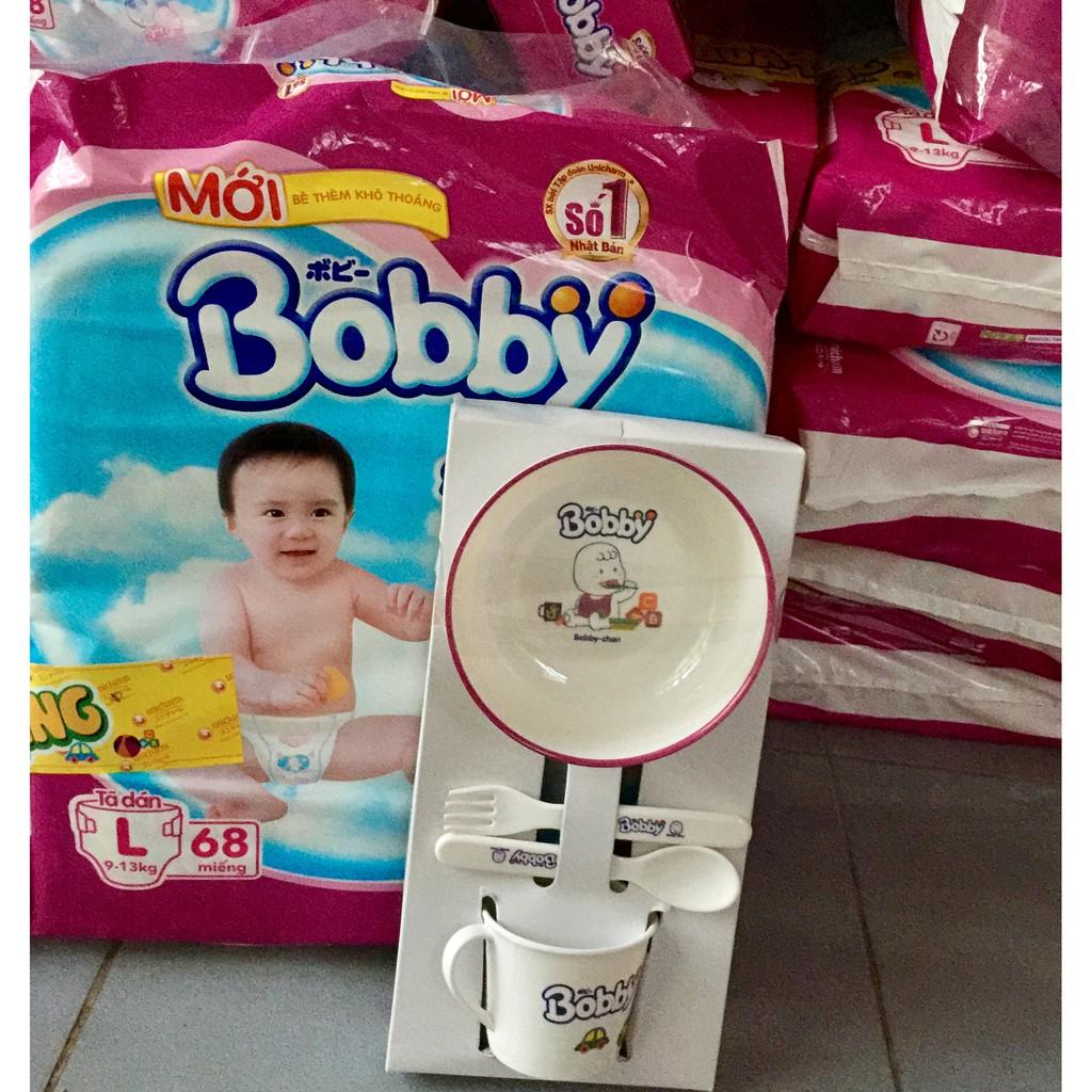 Tã dán bobby M76/L68/XL62/XXL56