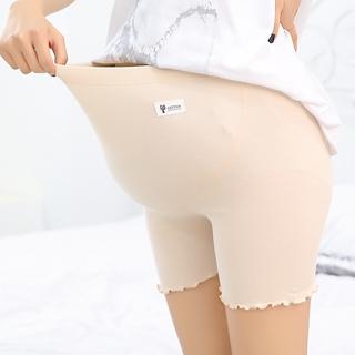Pregnant Women Safety Pants High waist Tummy Pants Thin Safety Leggings Underwear