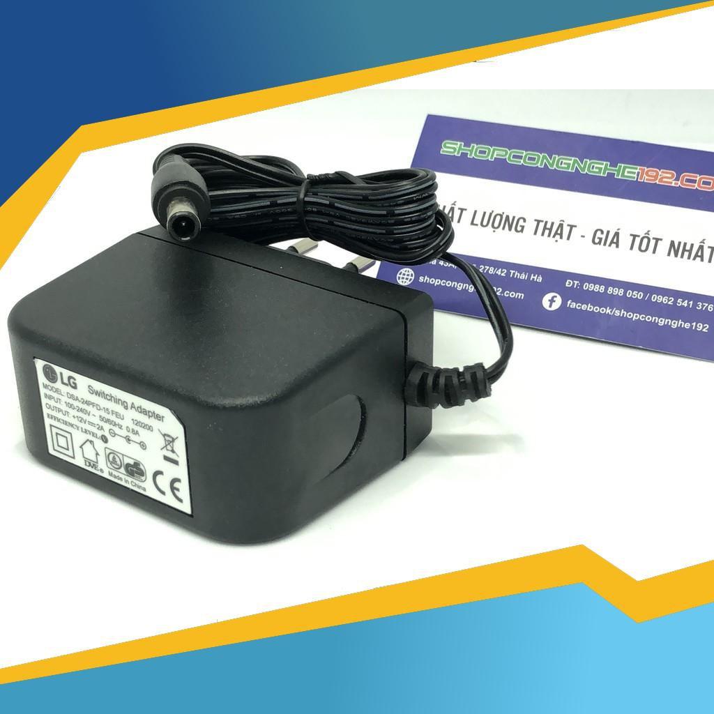 Bảo hành lỗi 1 đổi 1 Cục nguồn-adapter màn hình LG 12V 2A chính hãng