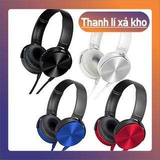 TAI NGHE CHỤP TAI XB 450 | NGHE NHẠC SÀNH ĐIỆU | MÀU SẮC TRẺ TRUNG | 99016 KUN