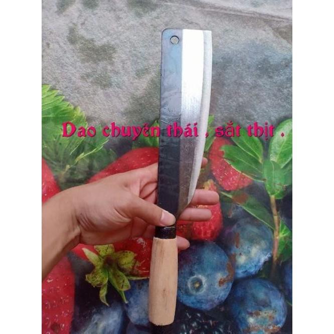 Bộ dao nhà bếp 8 món chặt cây - chặt xương - chặt gà-dao thái thịt