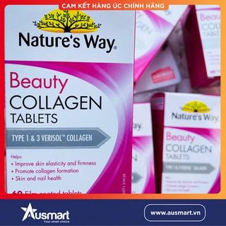 [CHUẨN AIR] Viên uống Collagen Beauty Collagen Booster Nature s Way 60 viên - Xuất xứ Úc thumbnail