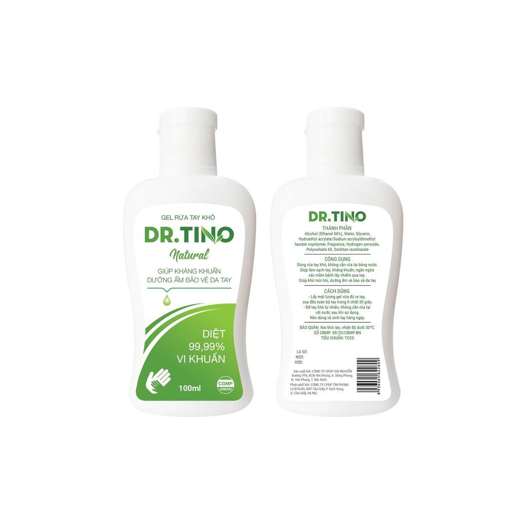 [Hàng Chính Hãng] Gel rửa tay khô Dr. Tino