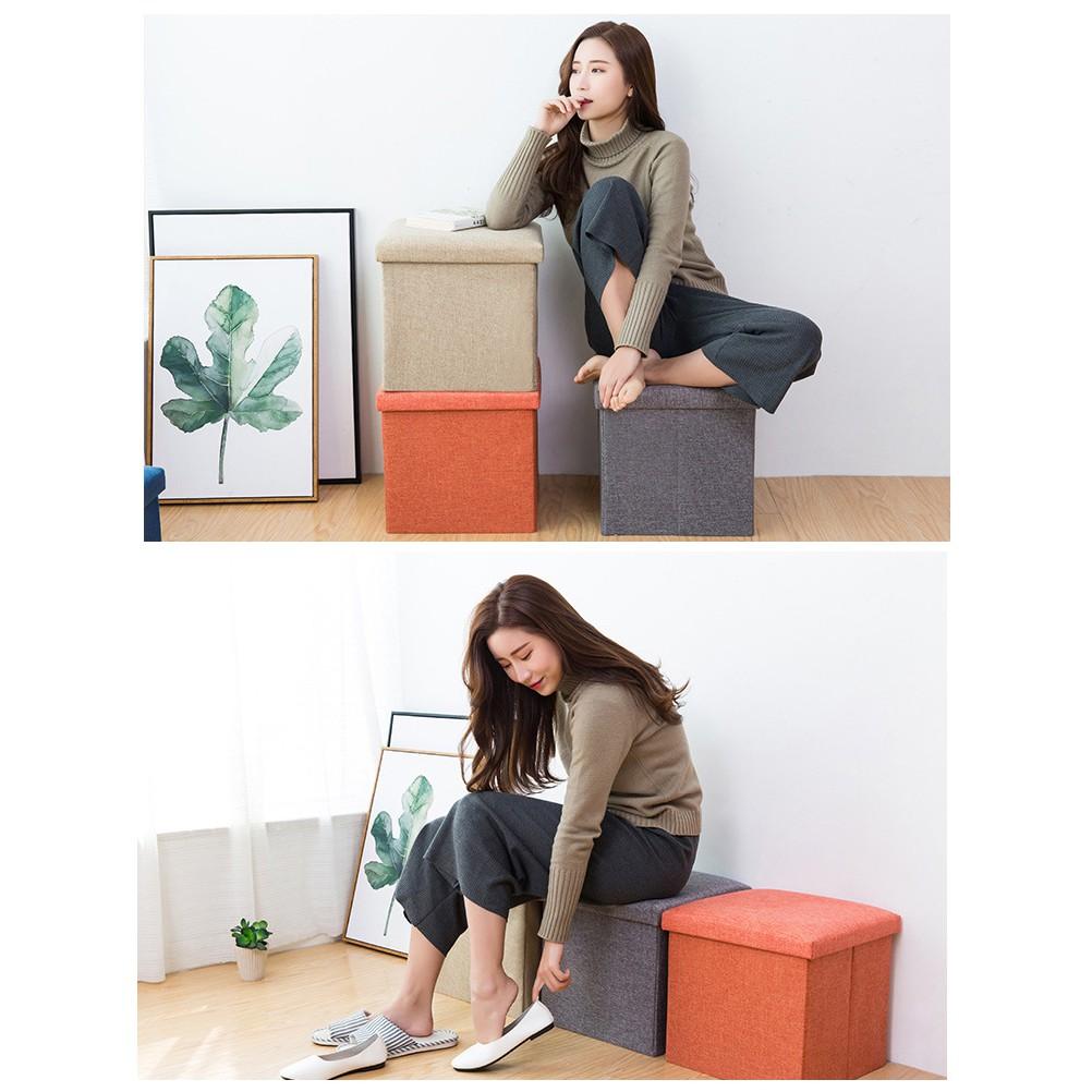 Ghế ngồi kiêm hộp đựng đồ đa năng / Ghế ngồi tiện dụng kiêm hộp lưu trữ đồ