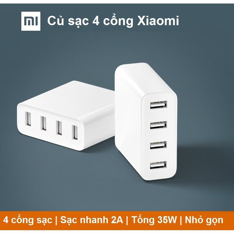 [Chính Hãng] Bộ sạc 4 cổng USB của Xiaomi 35W 7A