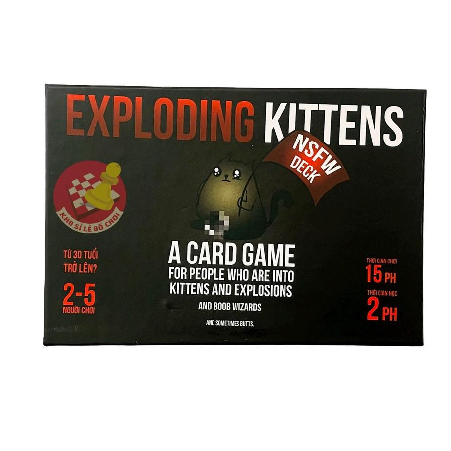 Mèo Nổ 16+ tiếng việt (bản cơ bản) – Boardgame Exploding Kittens