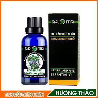 Tinh dầu Hương thảo Rosemary AROMA, tinh dầu thơm phòng, nguyên chất tự nhiên thumbnail