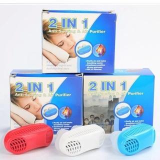 Dụng cụ hỗ trợ chống ngủ ngáy và lọc khí 2 in 1 chính hãng cho nam và nữ