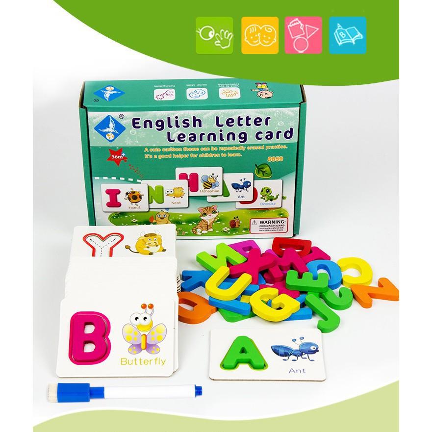 Bộ thẻ giúp bé học tiếng anh_BabyDragon