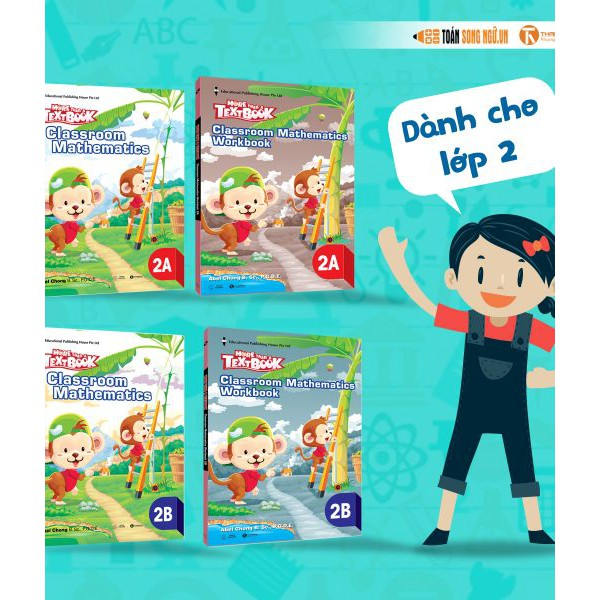 Bộ sách Giáo khoa Singapore – More than a Textbook – Classroom Mathematics Workbook lớp 2