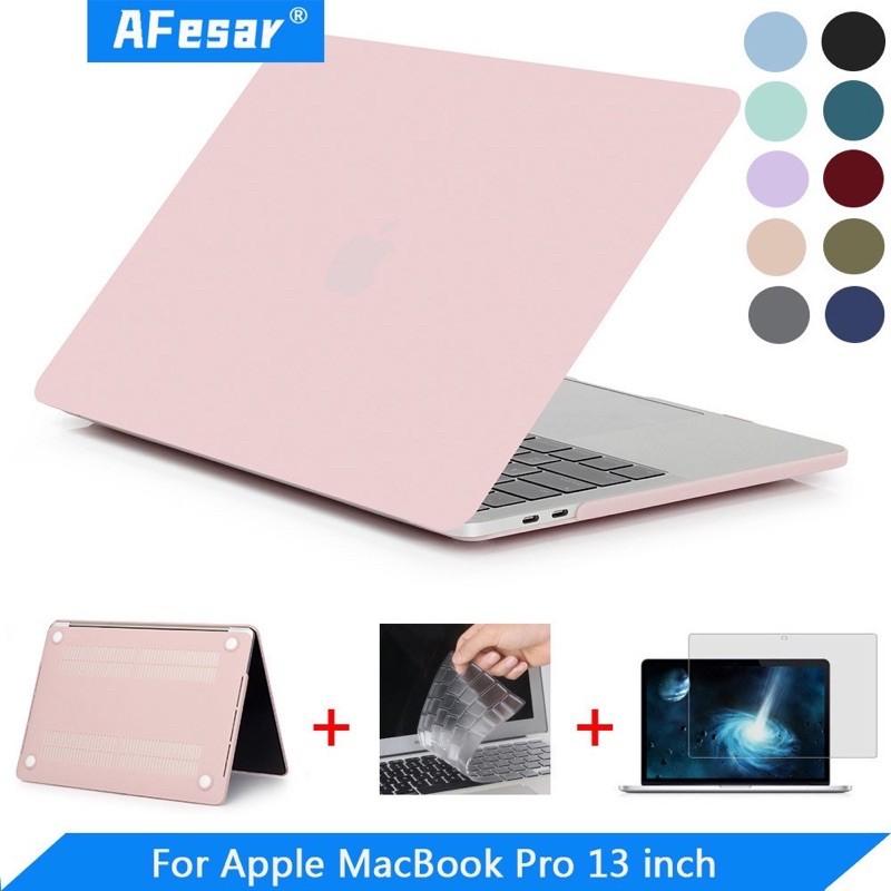 bảo vệ MacBook Pro 2020 cứng mờ Hồng pastel siêu xinh