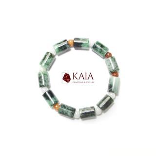 Vòng Tay phong Thuỷ Lu thống Cẩm thạch Sơn thủy - KAIA thumbnail