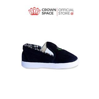 Giày Vải Tập Đi Cho Bé Trai Bé Gái Đẹp Crown UK Royale Baby Walking Shoes Cao Cấp 032_822 Nhẹ Êm Size 3-6/1-3 Tuổi