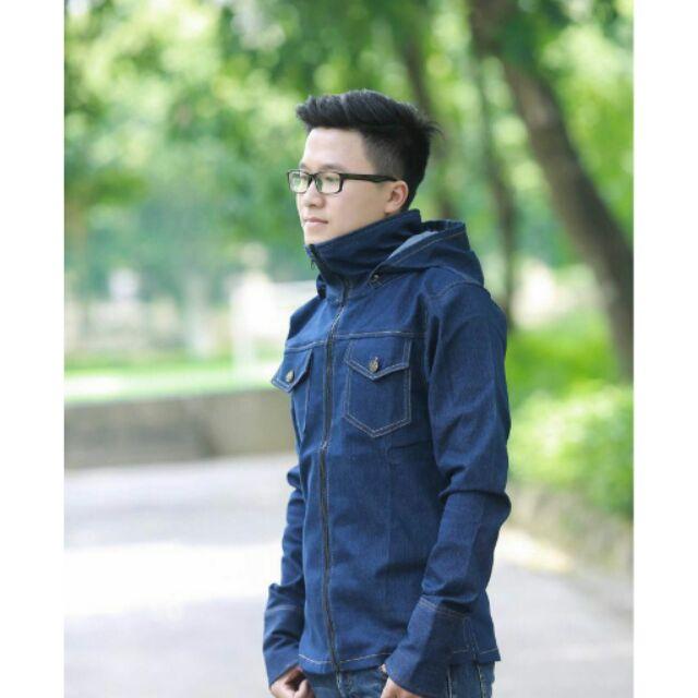 Áo chống nắng Jeans cao cấp dành cho nam - 3195089 , 418488572 , 322_418488572 , 145000 , Ao-chong-nang-Jeans-cao-cap-danh-cho-nam-322_418488572 , shopee.vn , Áo chống nắng Jeans cao cấp dành cho nam