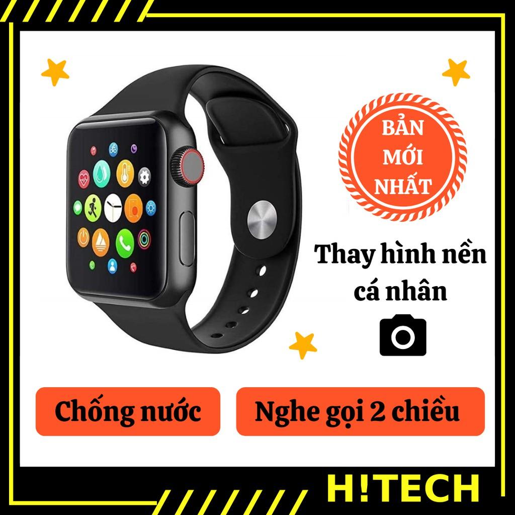 Đồng hồ thông minh T500 new [ Hitech.vn ] dong ho thong minh thay đổi được hình nền với giao diện như smart watch apple