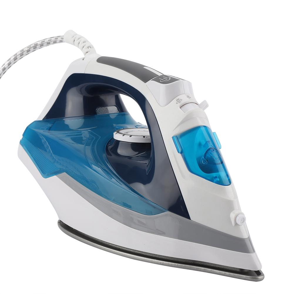 Ironing Iron Dry Quality Wet 220V Home High EU Portable 3 1600W Plug Steam for Gears Electric