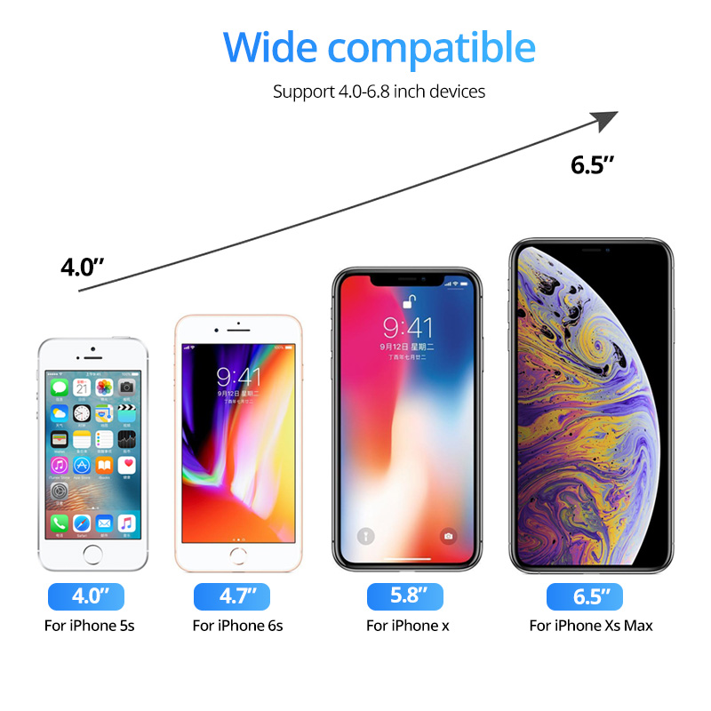 Giá Đỡ Điện Thoại Gắn Lỗ Thông Gió Xe Ô Tô Cho Iphone 12 11