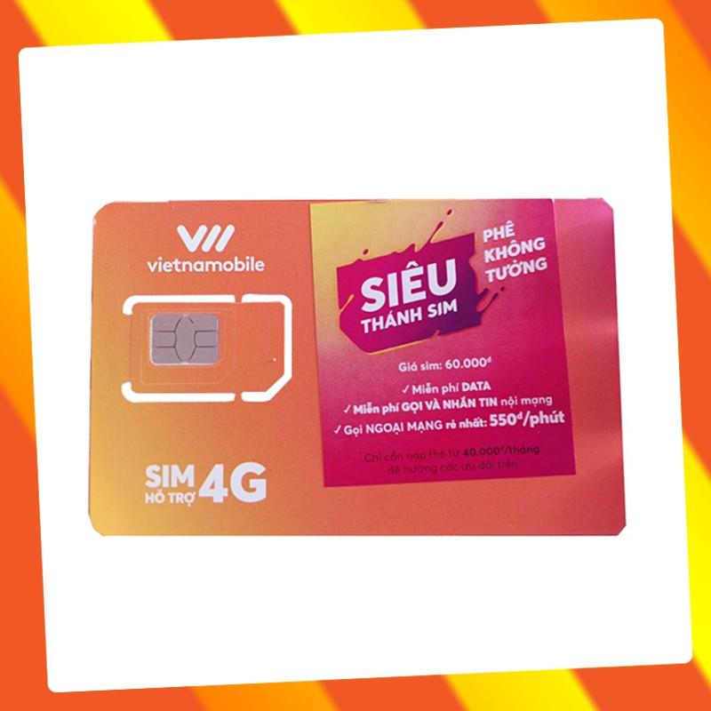 Siêu Thánh Sim VNMB Tài khoản chính 0đ Free Internet, Free Gọi Nội Mạng