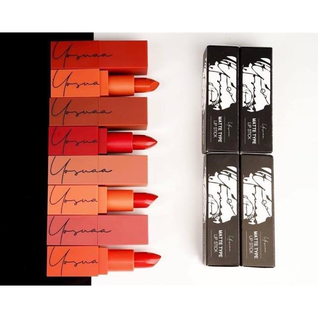 Son Thỏi Yosuaa Matte Type Lipstick Version 3