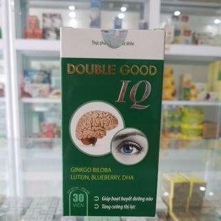 DoubleGood IQ Lọ 30 viên – Hoạt huyết dưỡng não, tăng cường thị lực