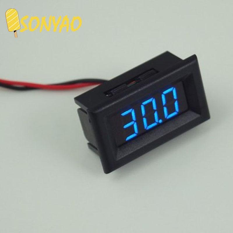 ♥^-^ ♥Two Wires Digital Voltmeter LED Display Voltage Meter