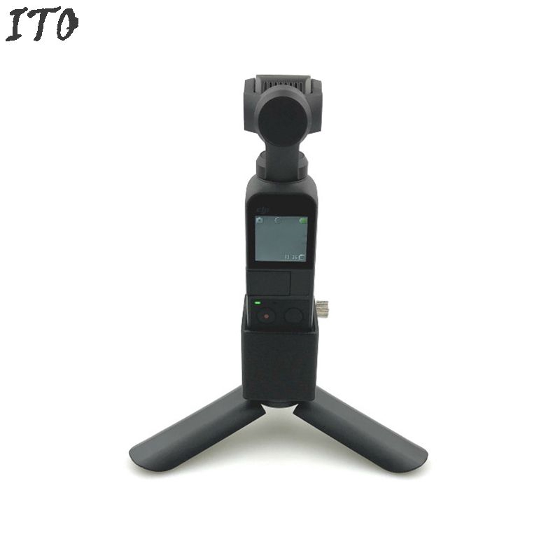 Low Center of Gravity Tripod+ 1/4 Screw Adapter  for DJI OSMO PICKET Accessories ito