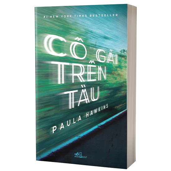 Cuốn sách Cô Gái Trên Tàu - Tác giả: Paula Hawkins