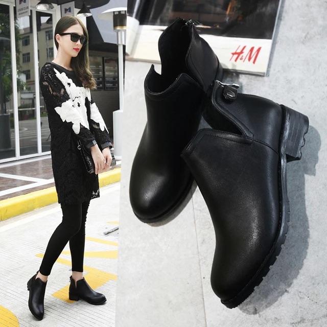(ORDER) Giày boots QC thời trang BIG SIZE