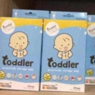 Túi trữ sữa toddler cầu vồng 7 màu.