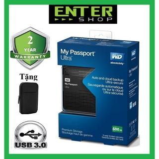 Ổ cứng di động 1Tb đến 320Gb WD My Passport Ultra Usb 3.0 Tặng túi chống sốc