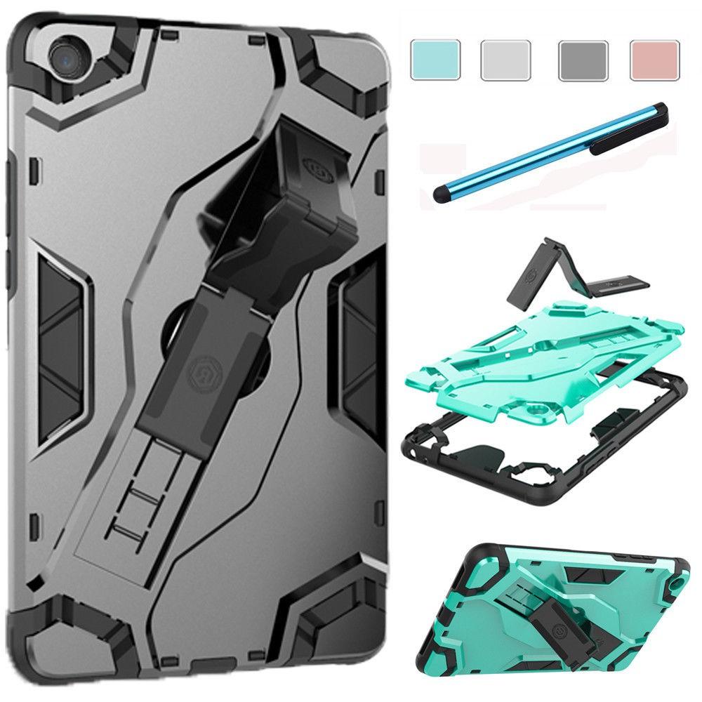 Ốp Máy Tính Bảng Cứng Kiểu Áo Giáp Quân Đội Gắn Giá Đỡ Và Tay Cầm Cho  Xiaomi Mi Pad 4 Mipad 4 8