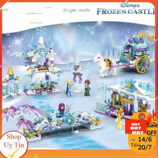 Lego Bé Gái Lâu Đài Băng Tuyết