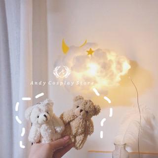 [CÓ SẴN] Móc khoá gấu bông Teddy