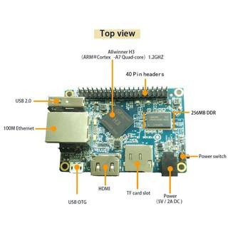 Máy tính nhúng Orange Pi One H3 Quad-core Cortex-A7 512MB DDRAM3