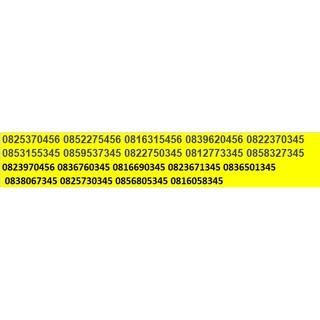 Sim Vinaphone đuôi 345 – 456 đồng giá 199k