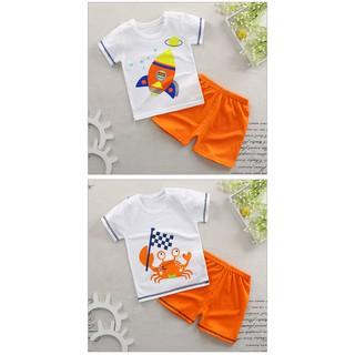 Set quần áo cotton bé trai cao cấp 8-17kg - Baby 2 thumbnail