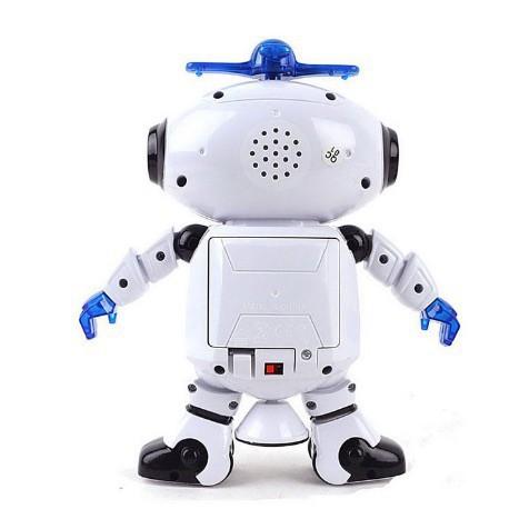 [CHẤT LƯỢNG] Robot Biết Nhảy Và Hát Xoay 360 Độ