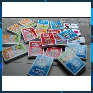 Flashcard Family and Friends (A5 in 2 mặt)