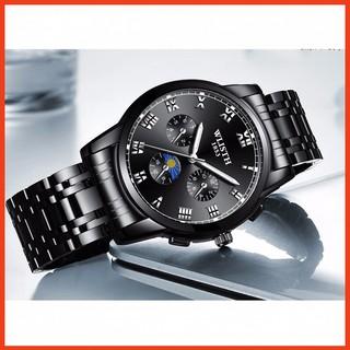 Đồng hồ nam Wlish chống nước 3ATM , chống xước mới TẶNG kèm cây tháo mắt dâyBảo Hành Đổi Mới