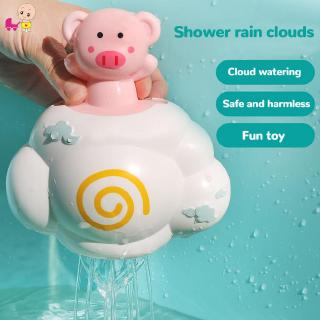 ❦Ready Stock❦☞ Cartoon Baby Bathing Toy Bathroom Funny Cloud Shower Spraying Water Toys