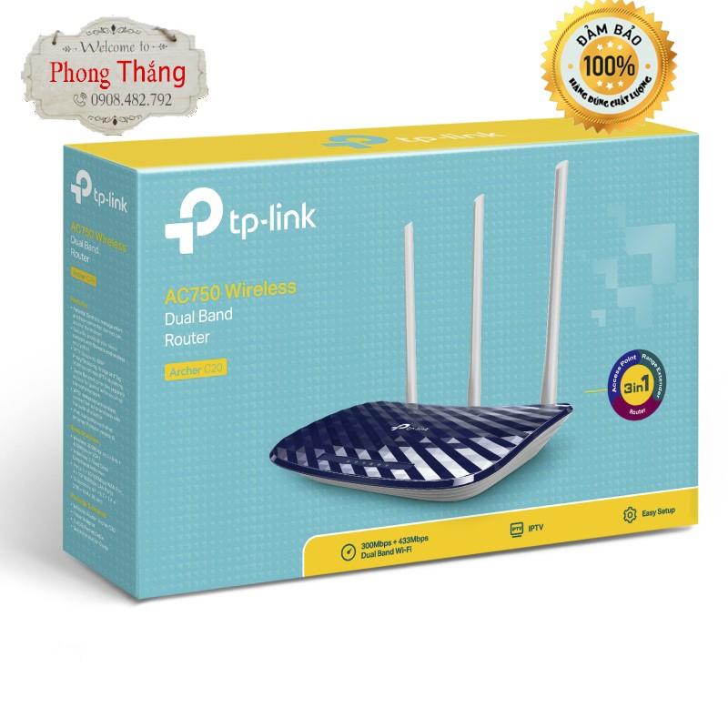Thiết Bị Phát Wifi TPLink Acher C20