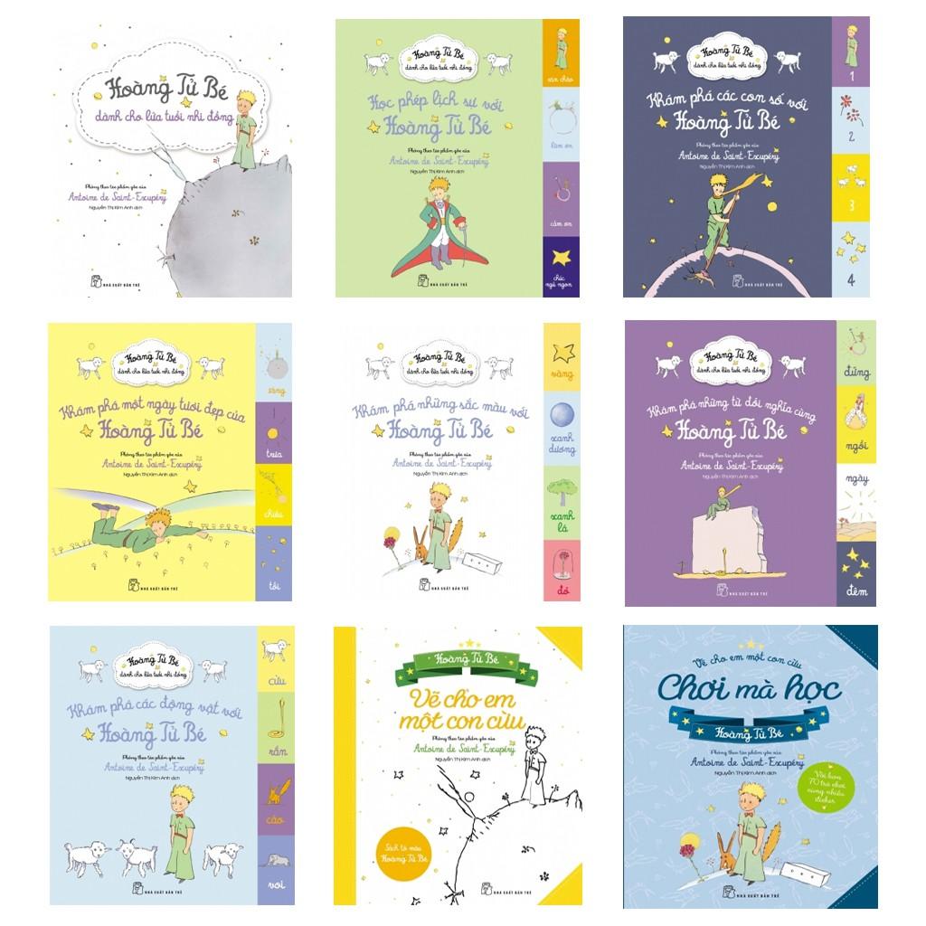 Combo 9 cuốn sách Hoàng tử bé