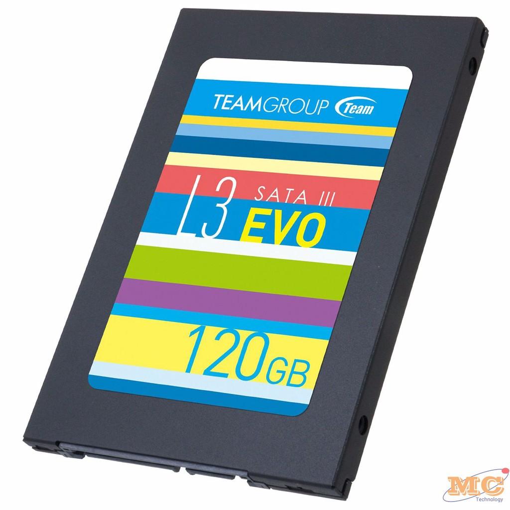 Ổ CỨNG SSD TEAM L3 EVO 120GB - HÃNG CHUẨN