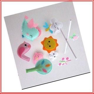 [Ưu Đãi Sốc] Đồ chơi handmade dc0010 cao cấp treo nôi cũi cho bé
