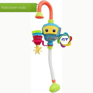 ĐỒ CHƠI ROBOT BƠM NƯỚC THÔNG MINH