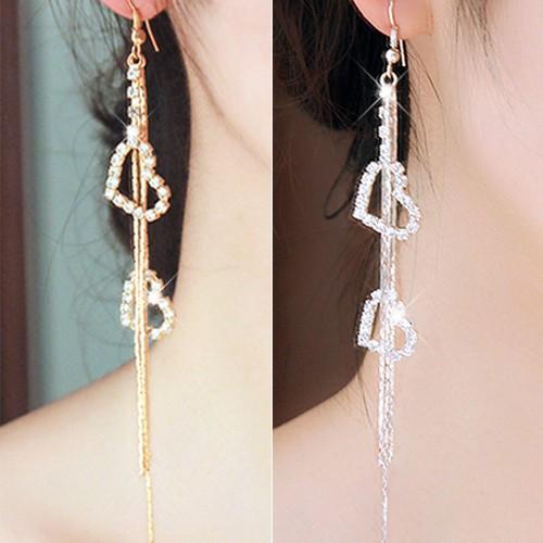 Đôi bông tai dáng dài hình trái tim đính đá phối tua rua kim loại thời trang cho nữ - 15367901 , 1361521728 , 322_1361521728 , 31000 , Doi-bong-tai-dang-dai-hinh-trai-tim-dinh-da-phoi-tua-rua-kim-loai-thoi-trang-cho-nu-322_1361521728 , shopee.vn , Đôi bông tai dáng dài hình trái tim đính đá phối tua rua kim loại thời trang cho nữ