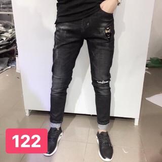 [HÀNG CHUẨN]Quần Jean Nam Chất Đẹp Cá Tính | Quần bò nam | quần jeans nam thời trang MS JEAN063