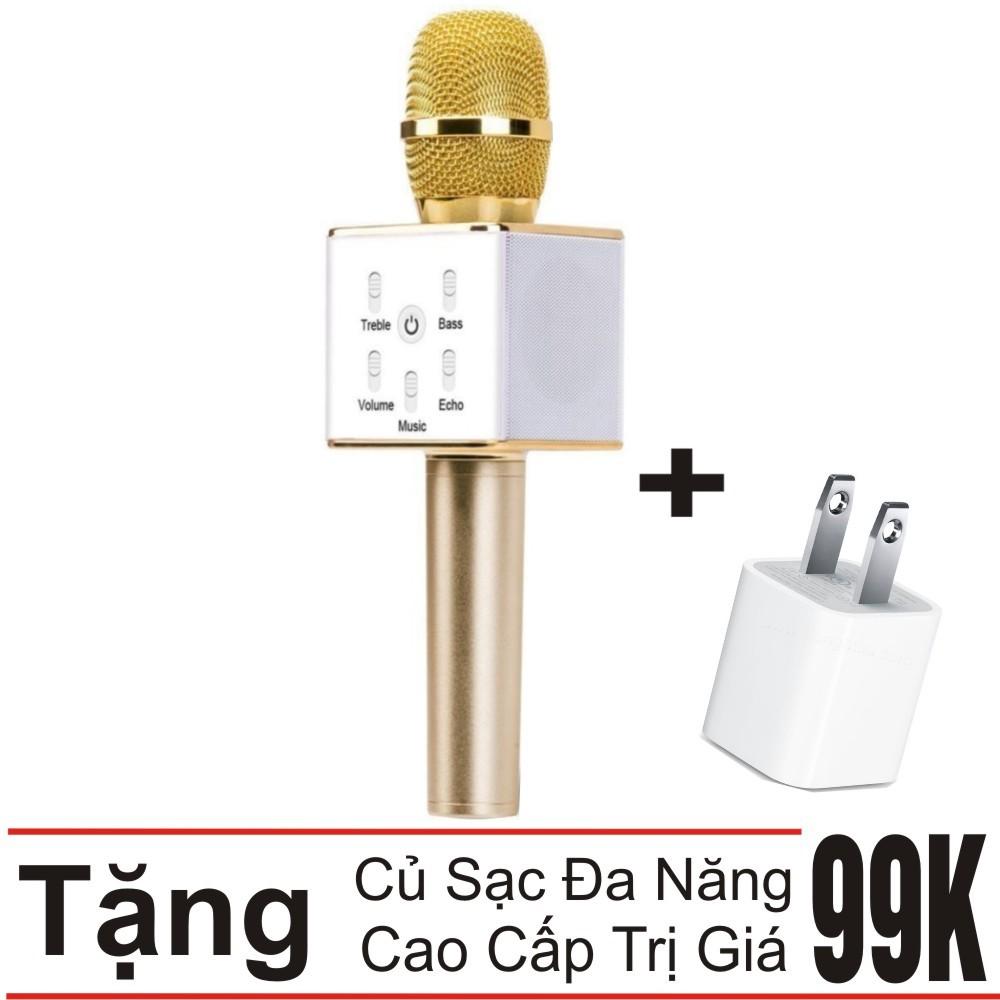 Combo Mic Hát Karaoke Kiêm Loa Bluetooth 3in1 Q7 Thế hệ mới (Vàng) + Củ sạc đa năng - 3459897 , 1081590483 , 322_1081590483 , 270000 , Combo-Mic-Hat-Karaoke-Kiem-Loa-Bluetooth-3in1-Q7-The-he-moi-Vang-Cu-sac-da-nang-322_1081590483 , shopee.vn , Combo Mic Hát Karaoke Kiêm Loa Bluetooth 3in1 Q7 Thế hệ mới (Vàng) + Củ sạc đa năng