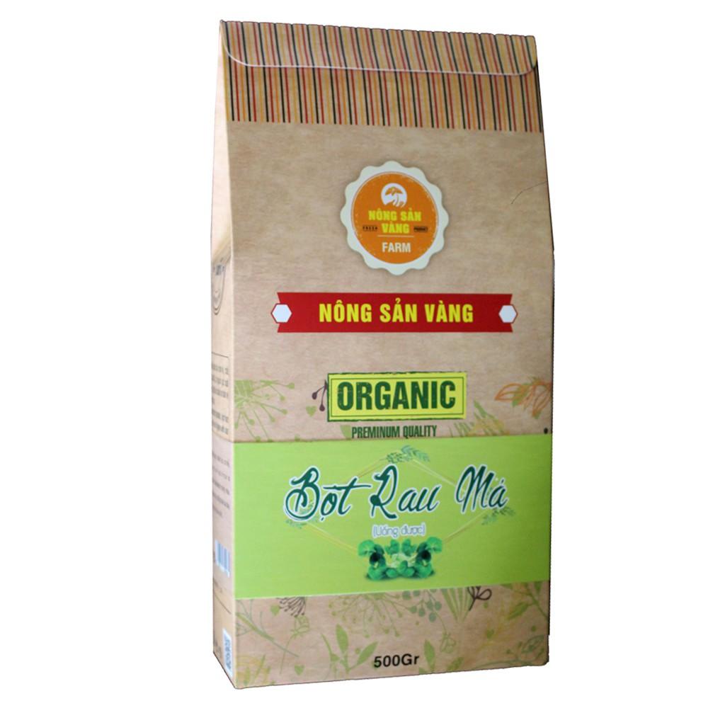 Bột Rau Má (Uống Được) 500gr - Nông Sản Vàng